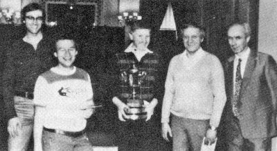Gold Cup Winners 1982 (Left to right) George Cuthbertson, Barnet Shenkin, Gerald Haase, Victor Goldberg, Willie Coyle